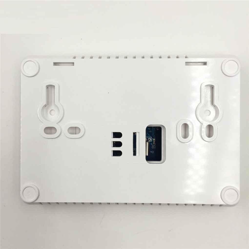 Morza Caldera 433MHZ Gas Wireless Termostato RF de Control 5A Caldera Mural Controller Calefacci/ón Termostato Digital Temperatura LCD