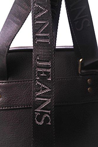 Armani Jeans bolso con bandolera hombre nuevo vintage marrón