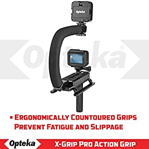 Opteka X-GRIP VLH-MOD Professional Stabilizing Handle for GoPro Action Cameras (Black)