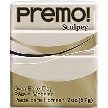 Sculpey Premo Polymer Clay 2 Ounces-Rhino Gray