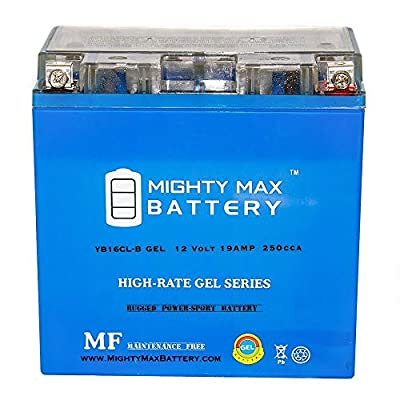 Mighty Max Battery YB16CL-B Gel 12V 19AH Battery for Kawasaki KVF300-A Prairie 300 99-01 Brand Product