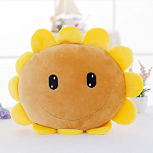 LZYMSZ Sunflower Throw Pillow,Hand Warmer Plush Stuffed Toy Doll,Soft Decorative Cushion Doll for Sofa Home Bedroom Office Dormitory in Valentine's Day, Christmas, Birthday(sunflower)