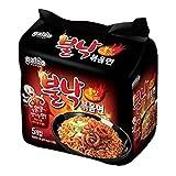 Paldo Bulnak Pan Noodle Irresistable Sweet Spicy Ramen (Pack of 4)