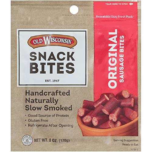 Old Wisconsin Snack Sticks, Original, 8-Ounce Package