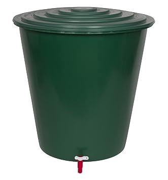 Fantastisch XL Wassertank 210 Liter aus Kunststoff in Grün. Inklusive  WH08
