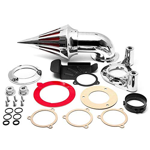 - Oyocycle Motorcycle Spike Air Cleaner Intake Filter for Harley Davidson Dyna Touring Models Motorcycle Accessories