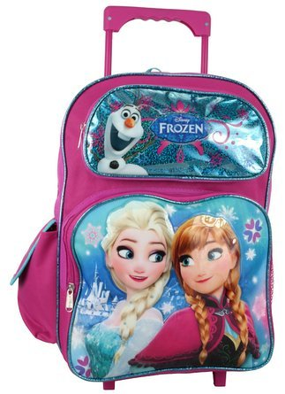 Disney Frozen Large Rolling Backpack