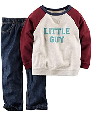 Carter's Baby Boys' 2 Piece Graphic Top Set (Baby)