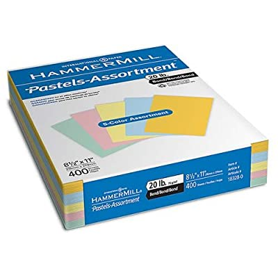 """o Hammermill Papers Group o - Colored Copy Paper, 20Lb, 8-1/2""""x11"""", 500/RM, Cherry"""