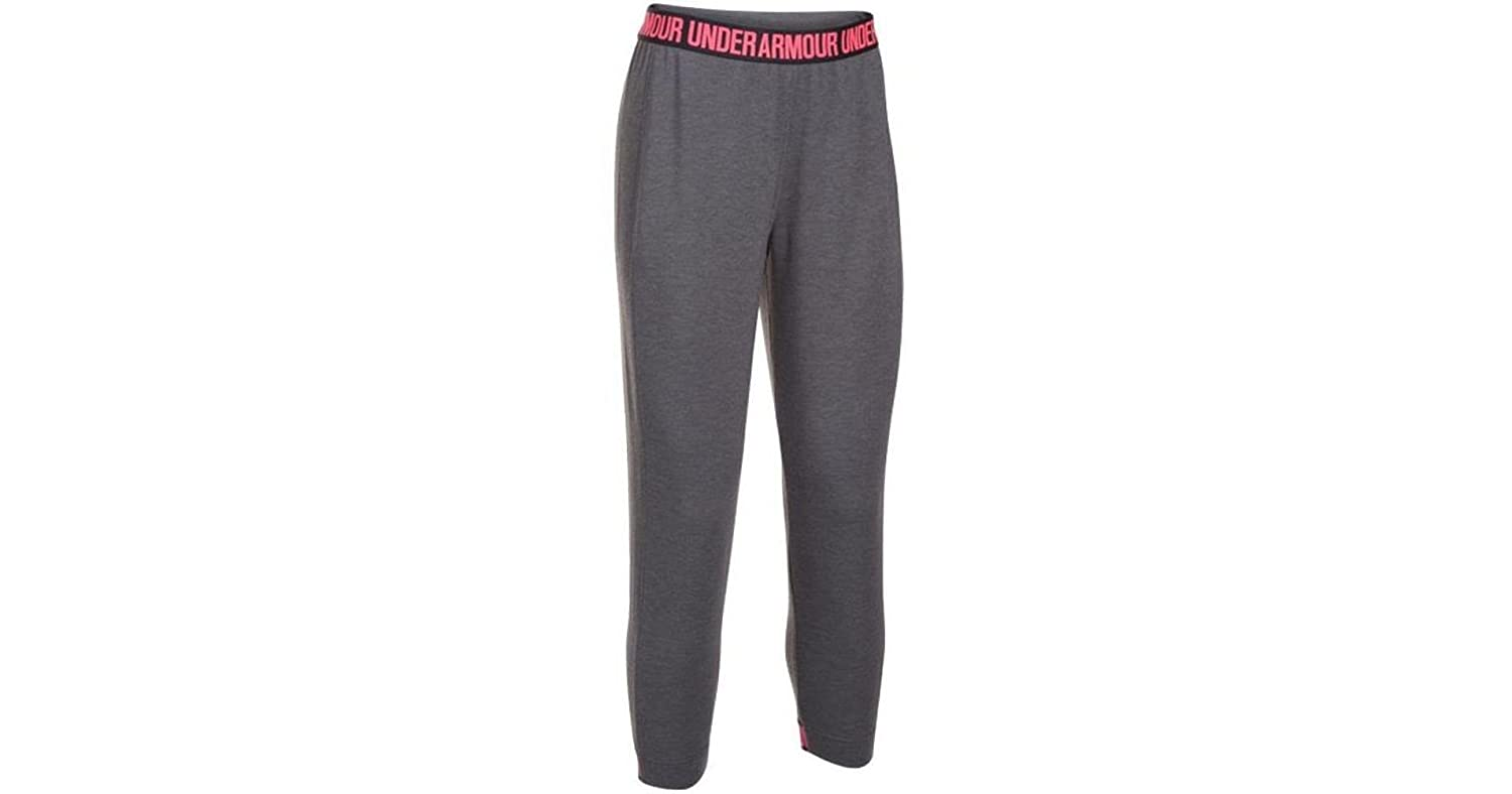 Under Armour Leggings Donna Nero Carbon Heather Small
