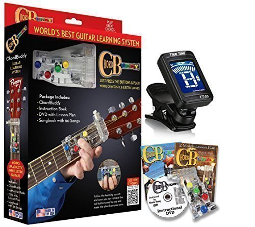 Aid System (ChordBuddy Guitar Learning System & Teaching Aid Chord Buddy with True Tune Chromatic Tuner)