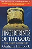 Front cover for the book Fingerprints of the Gods by Graham Hancock