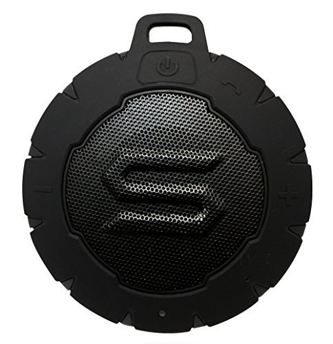 (SOUL STORM - Outdoor Waterproof Wireless Speaker with Bluetooth. Powerful, Portable and Floatable. Storm Black)