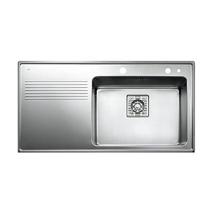 Amazon.com: Teka 40180510 1B 1D Plus - Fregadero de cocina ...