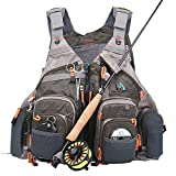 Maxcatch Fly Fishing Vest Pack (Fishing Vest/Fishing Sling Pack/Fishing Backpack)