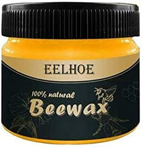 Galapara Beeswax Furniture Polishing Mahogany Furniture Special Maintenance Polishing Crack Proof,Polish Wood Furniture Cleaner for Wood Doors, Tables, and Floors for Furniture to Beautify & Protect