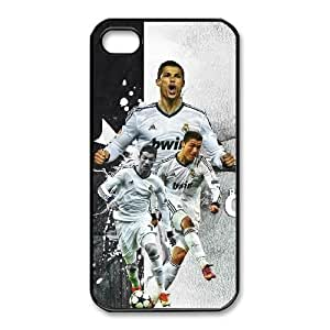 iphone4 4s Case (TPU),iphone4 4s Cell phone case Black for cristiano ronaldo - KKHG5349778