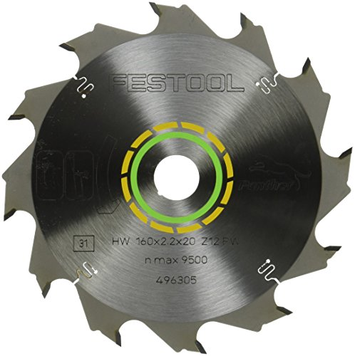 Festool 496305 Standard Ripping Blade for TS 55 Plunge Cut Saw - 12 ()