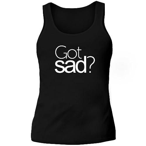 Idakoos Got sad? - Aggettivi - Canotta Donna