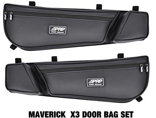 Can Am Maverick X3 PRP door bag bags BLK Set of 2 #E60-210