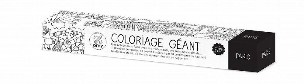 Omy Coloriage Géant Paris 180x50cm Amazonfr Cuisine Maison
