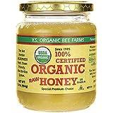 Y.S. Eco Bee Farms 100% Certified Organic Raw Honey 1 lb (454 grams) Paste
