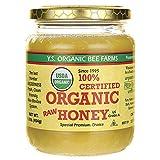 100% Certified Organic Raw Honey 1 lb (454 grams) Paste