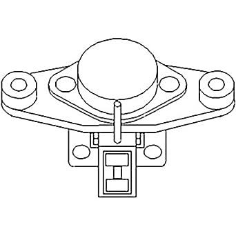 amazon com: al65077 new regulator for john deere tractor/loader 1030 on  operator's manual on kubota tractor electrical wiring diagrams