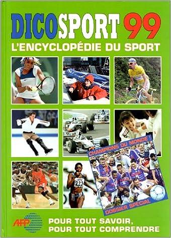 Livres DICOSPORT 99. : L'encyclopédie du sport pdf, epub ebook