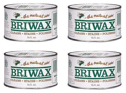 Briwax Furniture Wax Polish-Clear (Расk оf Fоur)