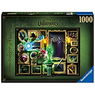 Ravensburger Disney Villainous Maleficent 1000 Piece Jigsaw Puzzle for Adults – Every Piece is Unique, Softclick Technology Means Pieces Fit Together Perfectly