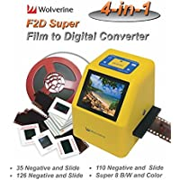Wolverine Data F2DSUPER 20MP 4-in-1 Film to Digital Converter