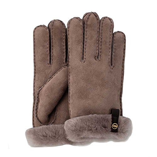 UGG Women's Tenney Glove with Leather Trim Stormy Grey Multi MD