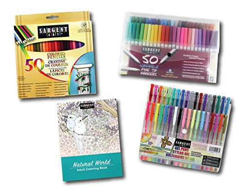Sargent Art 22-0049 Activity Kit for The Perfect Little Arti