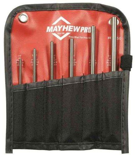 Mayhew 66250 Metric Pilot Punch Kit, 6-Piece