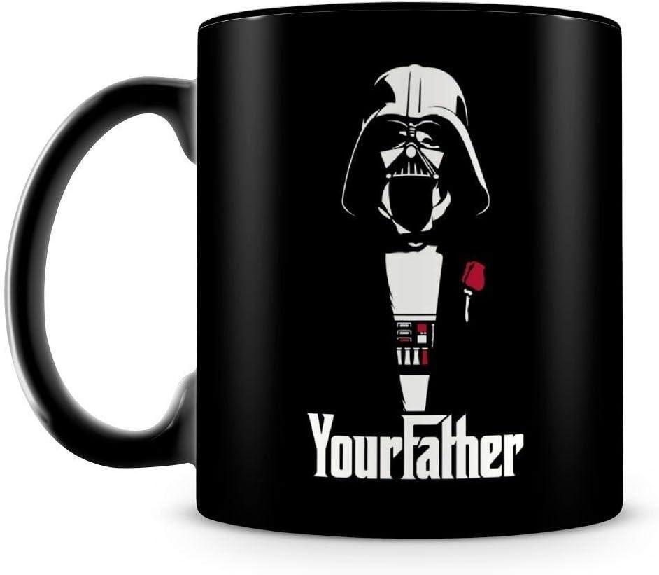 Caneca Personalizada Darth Vader Your Father (100% Preta)