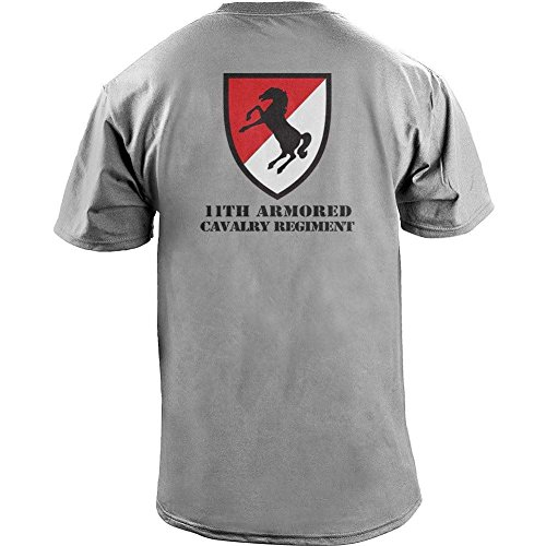 USAMM Army 11th Armored Cavalry Regiment Veteran Full Color T-Shirt