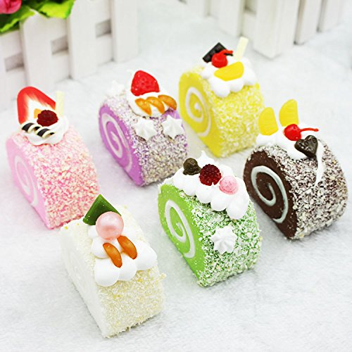 Fake Food Props Fake Cake Realistic Artificial Dessert Kitchen Display Party Cosplay Decoration Prank Gift by NICE PURCHASE