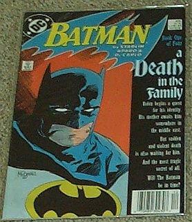 Batman a Death in the Family No 426 Dec 1988 (Book One of Four) (Batman A Death In The Family 1988)