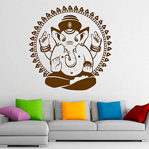 Ganesha Elefante Tatuajes de Pared Diseño Indio Pegatinas de ...