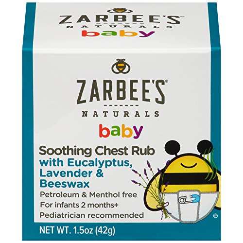 Zarbee's Baby Chest Rub - 1.5 oz, Pack of 2
