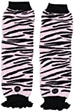 Babylegs Baby-Girls Infant Zazzy Zebra Leg Warmer, Pink/Black, One Size