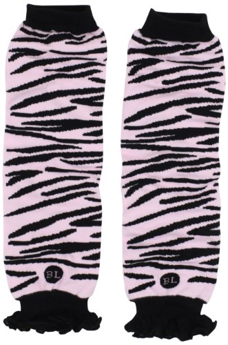Babylegs Baby-Girls Infant Zazzy Zebra Leg Warmer, Pink/Black, One Size by BabyLegs