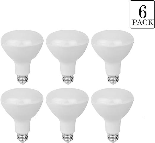 Pack de 6 E27 BR30 bombillas LED 15 W, 100 W bombillas ...