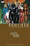 Civil War: Black Panther by Reginald Hudlin front cover