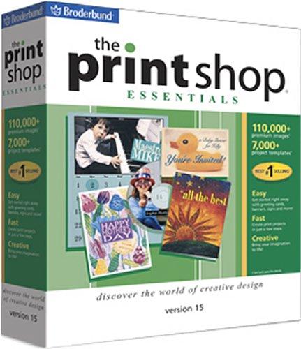 The Print Shop Essentials 15