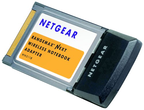 - NETGEAR WN511B RangeMax Wireless-N Notebook Adapter