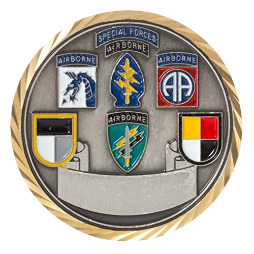 United States Army Fort Bragg Center of The Universe Challenge Coin