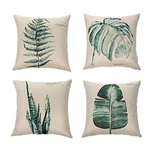 Ogisele Leaf Theme Decorative Throw Pillow Case 18