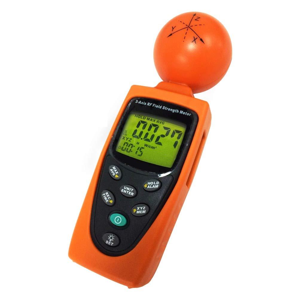 RF-3GZ Triple Axis RF Power Meter/Detector Measuring 50MHz to 3.5GHz HF EMF Radiation (ElectroSmog) - Cell Phones/Towers, Smart Meters, WiFi, Microwaves.